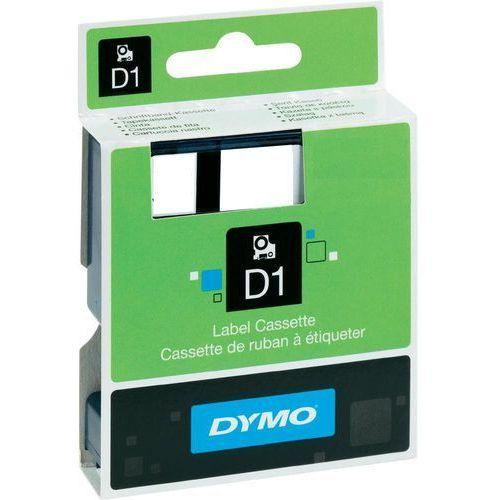 Dymo  etykieta d1 19mmx7m czarny/czer. s0720870 (5411313452175)