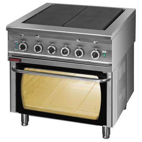 Kuchnia elektryczna 4-płytowa z piekarnikiem elektrycznym KROMET 000.KEZ-4U/PE-2