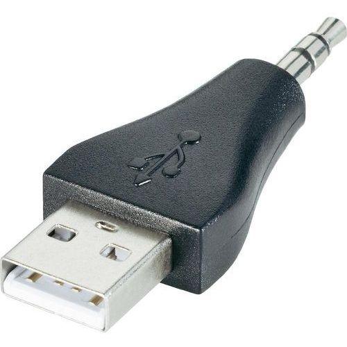 Przejściówka, adapter USB 2.0 <=> jack 3,5 mm, do iPod Shuffle (4040849939815)