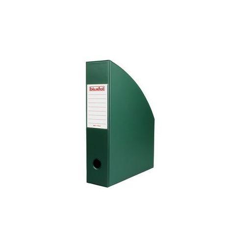 Pojemnik na dokumenty a4/70 pvc ciemnozielony se-35-05 marki Biurfol