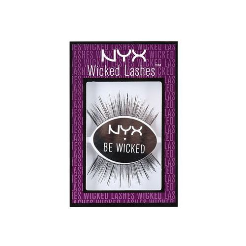 Nyx professional makeup  wicked lashes sztuczne rzęsy do naklejania odcień fatale