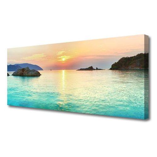 Obraz canvas słońce skały morze krajobraz marki Tulup.pl