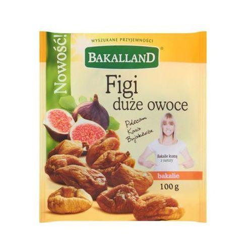 Bakalland  100g figi duże owoce suszone