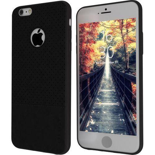 Etui QULT do iPhone 6/6S Plus Czarny (5901386713360)