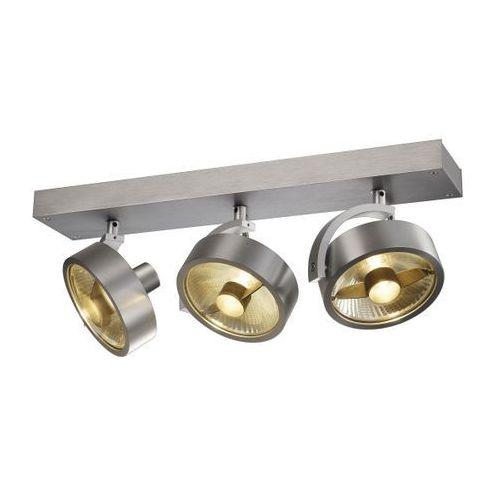 reflektorek potrójny KALU 3 QPAR aluminium szczotkowane, SPOTLINE 147326