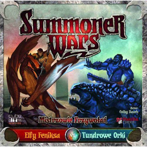 Summoner Wars Elfy Feniksa vs Tundrowe Orki (5902768838039)