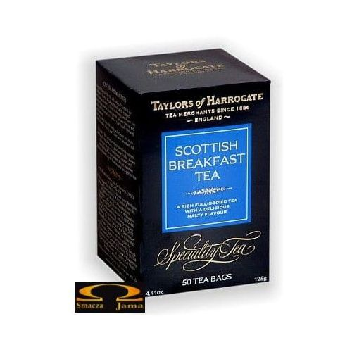 Herbata Taylors of Harrogate herbata czarna w saszetkach Scottish Breakfast 50 saszetek