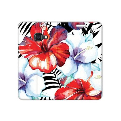 Etuo flex book fantastic Samsung galaxy xcover 4s - etui na telefon flex book fantastic - egzotyczne kwiaty