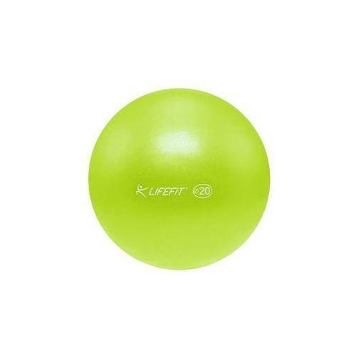 Piłka gimnastyczna Lifefit OVERBALL 20cm, zielona