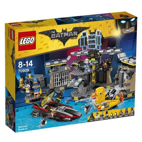 LEGO Batman the Movie, Włamanie do Jaskini Batmana, 70909