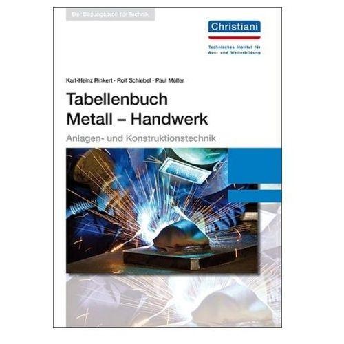 Tabellenbuch Metall - Handwerk (9783865228222)