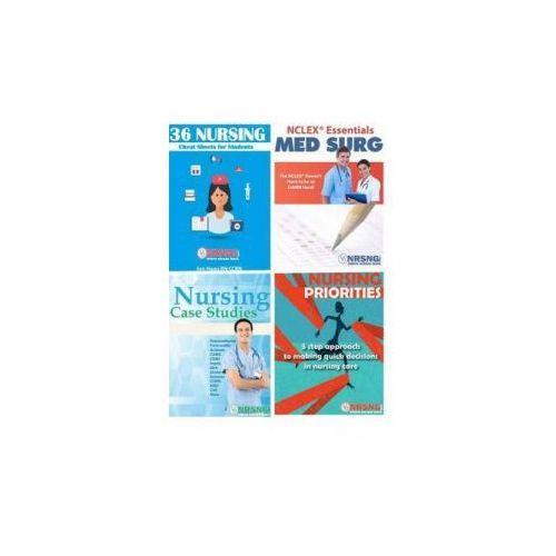 Nursing Student Book Collection (Cheat Sheet, Priorities, Medsurg, Case Studies) - OKAZJE