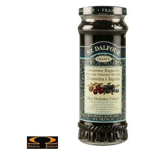 Owocowa rapsodia - żurawina z jagodą 284g marki St. dalfour