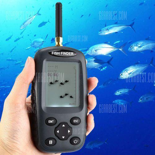 FF998 Wireless Dot Matrix Fish Finder Sonar Sensor Echo Sounder - produkt z kategorii- Pozostałe wędkarstwo