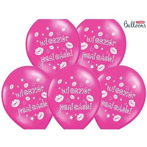 Twojestroje.pl Balon lateksowy różowy wieczór panieński 30 cm 1szt (5901157499356)