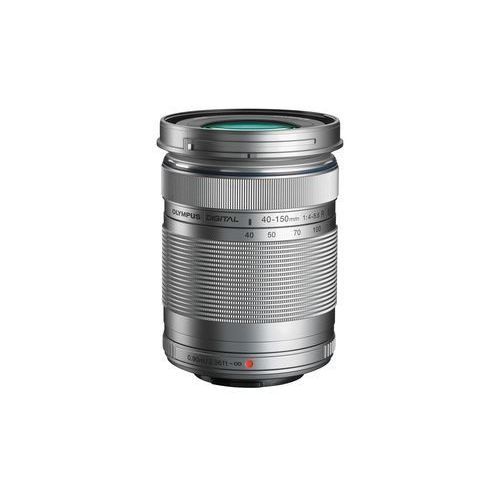m.zuiko digital ed 40-150mm f/4.0-5.6 r (srebrny) + pokrowiec marki Olympus