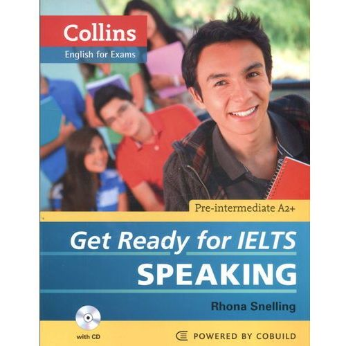 Get Ready for IELTS Speaking Collins English for Exams, oprawa miękka