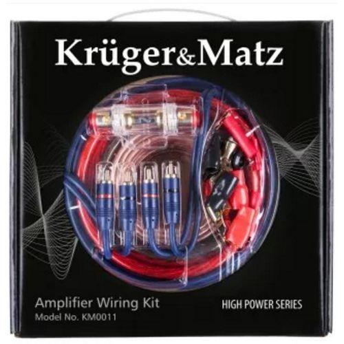 Zestaw montażowy KRUGER&MATZ do wzmacniaczy KM0011