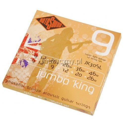 Rotosound JK-30SL Jumbo King struny do gitary akustycznej 12-str 9-46