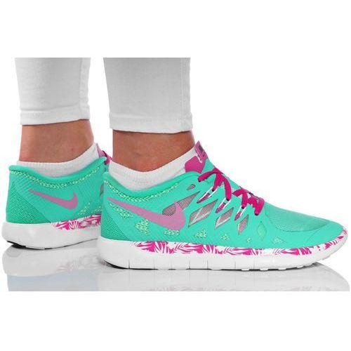 Nike Buty  free 5.0 print (gs) 716537-300