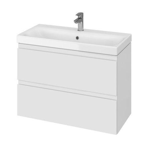 CERSANIT MODUO SET SLIM zestaw: umywalka 80 cm + szafka, kolor BIAŁY S801-225, S801-225