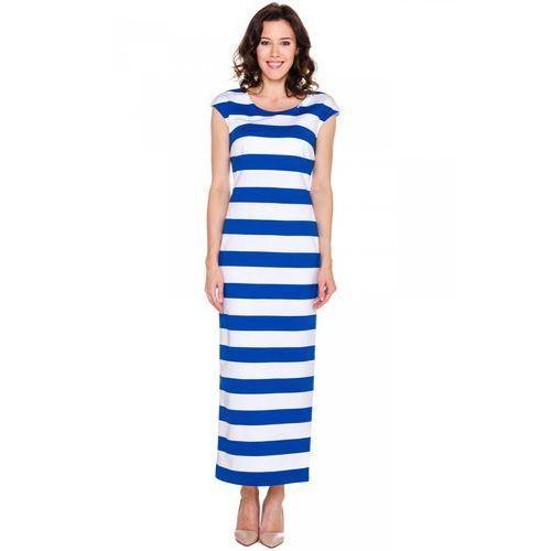 Sukienka tuba w długości maxi -  marki Vito vergelis