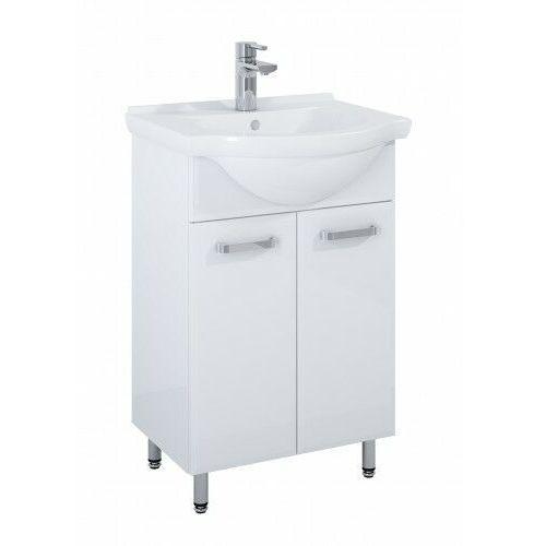 ELITA SET szafka + umywalka Amigo 55 2D white 166740