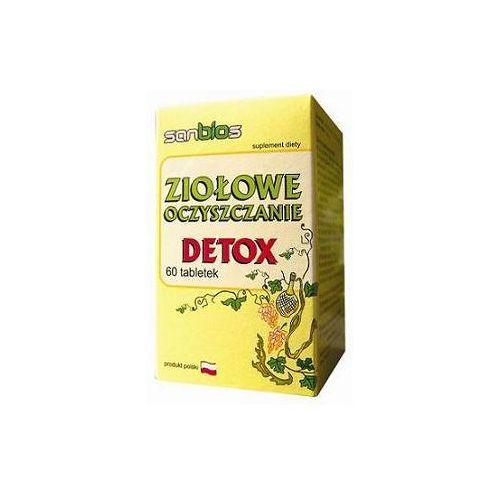 Ziołowe oczyszczanie DETOX 60 tabl. - tabletki oczyszczanie organizmu