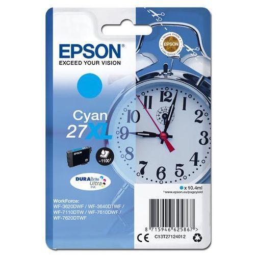 Epson Oryginalny atrament  27xl [c13t27124012] cyan