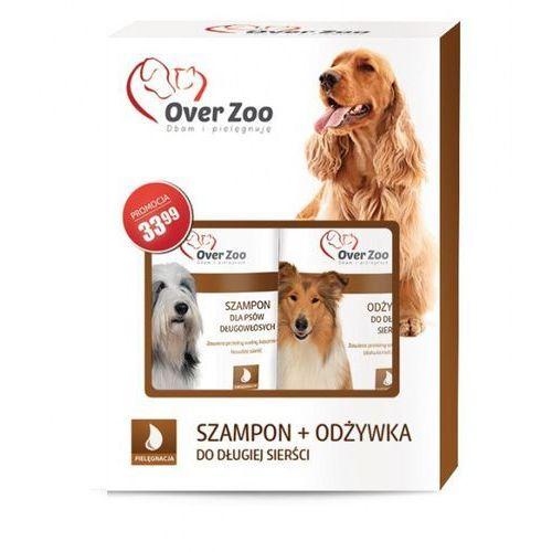 Over zoo Dwupak długowłose - szampon dla psów długowłosych 250 ml + odżywka 250 ml