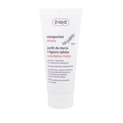 mintperfect aroma eucalyptus & mint pasta do zębów 100 ml unisex marki Ziaja