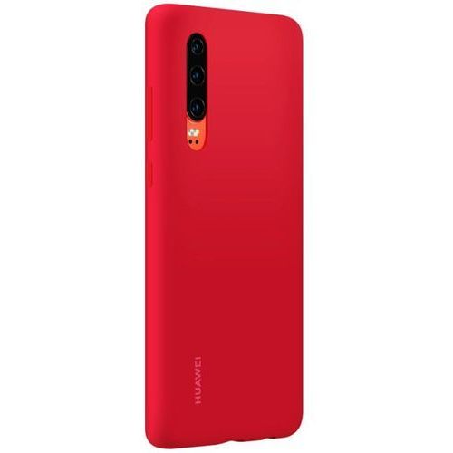 Huawei P30 Silicone Cover - Bright Red (6901443277360)