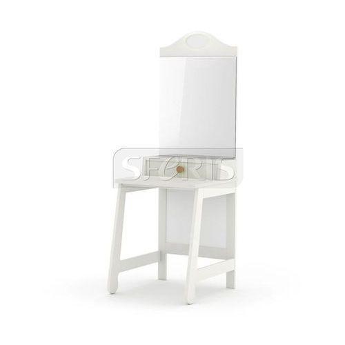 PINIO Parole Toaletka MDF biała - brązowy uchwyt - 016-506-058 - sprawdź w wybranym sklepie