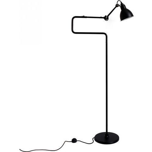 n°411 - lampa podłogowa - czarny/czarny marki Lampe gras