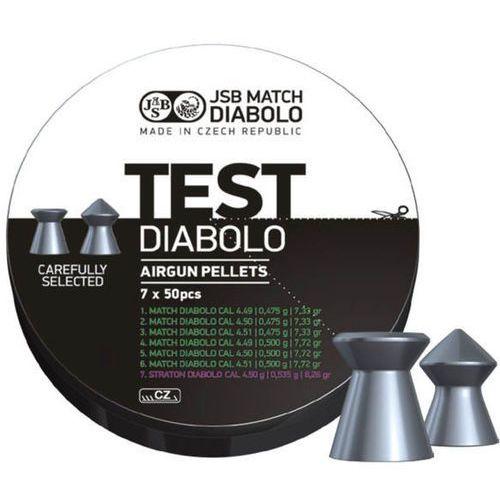 Jsb Śrut  match diabolo test light weight .177 (002001-350)