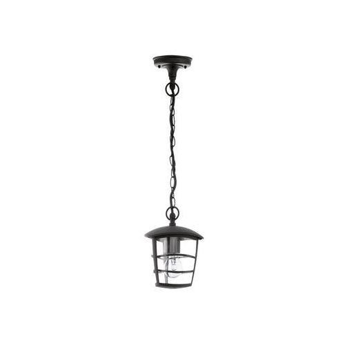 Eglo 93406 - Lampa wisząca zewnętrzna ALORIA 1xE27/60W/230V