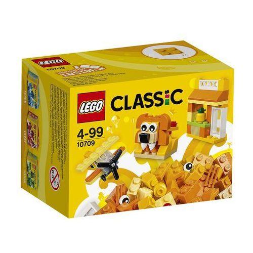 LEGO Classic, Pomarańczowy zestaw kreatywny, 10709