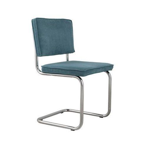 Zuiver Krzesło RIDGE RIB niebieskie 12A 1006007, 1006007