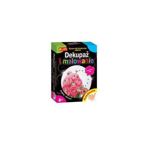Dekupaż i malowanie Kwitnące róże (4823076121587)