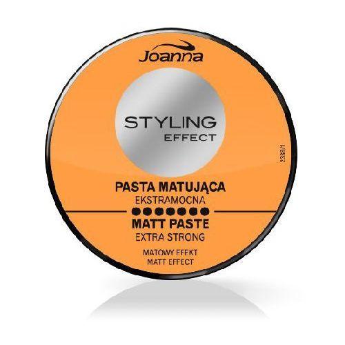 Joanna Styling Effect Pasta matująca do włosów extra mocna 80g - Joanna