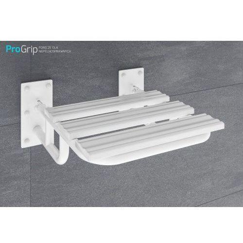 Krzesełko prysznicowe uchylne z podporami, PSE/25/503