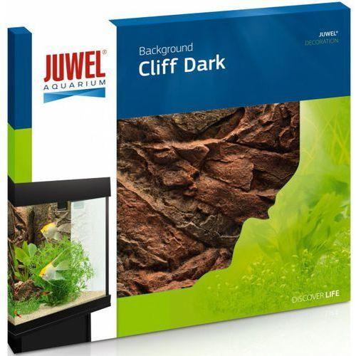 Juwel dekoracja cliff dark tło