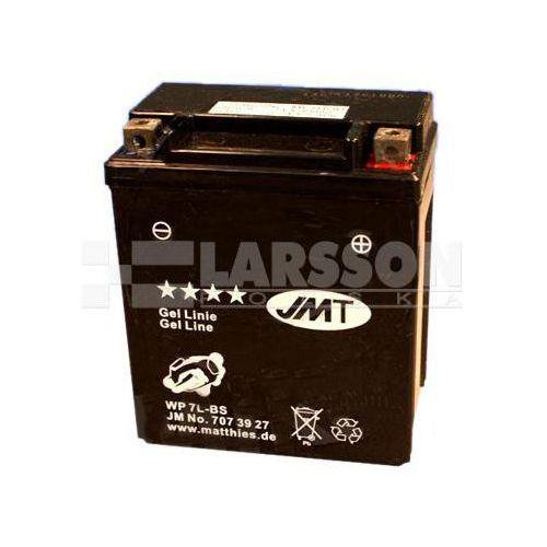 Jm technics Akumulator żelowy jmt ytx7l-bs (wp7l-bs) 1100300 suzuki vl 250, honda sh 150