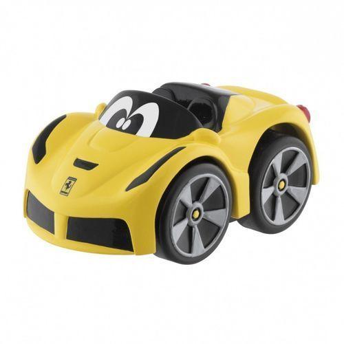 Chicco Samochód mini turbo touch ferrari żółty (8058664093694)