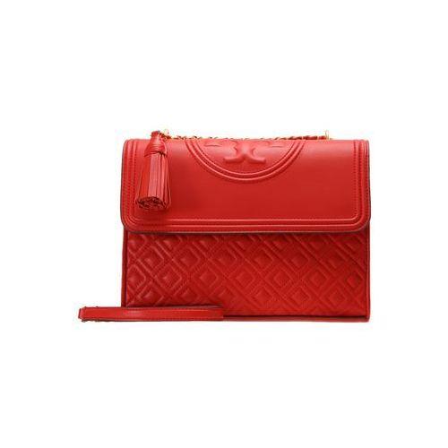 Tory Burch FLEMING CONVERTIBLE SHOULDER BAG Torba na ramię exotic red