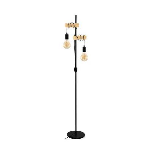 Eglo 32919 - Lampa podłogowa TOWNSHEND 2xE27/10W/230V, 32919