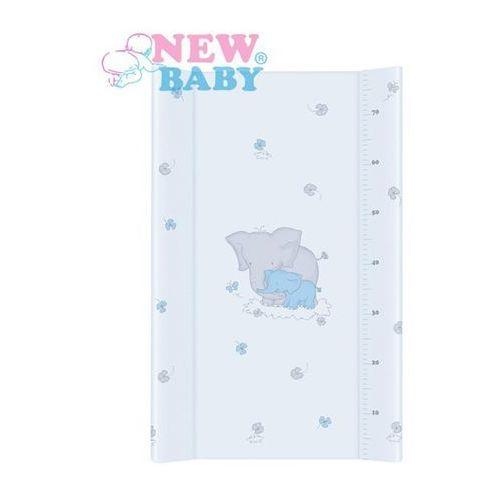 New baby Nadstawka na łóżeczko  słonik 50x70 cm niebieska