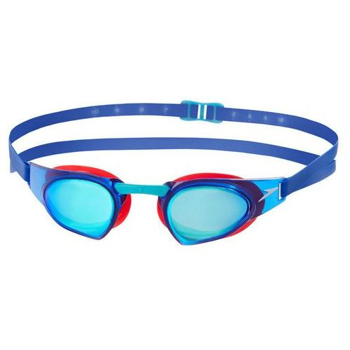 speedo Fastskin Prime Mirror Okulary pływackie czerwony/niebieski 2018 Okulary do pływania