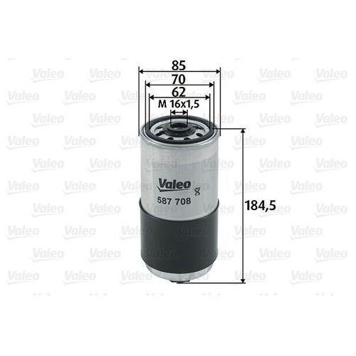 Filtr paliwa VALEO 587708
