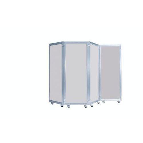 System parawanów, element z płytą dekoracyjną, wys. x szer. 1600x600 mm, jasnosz